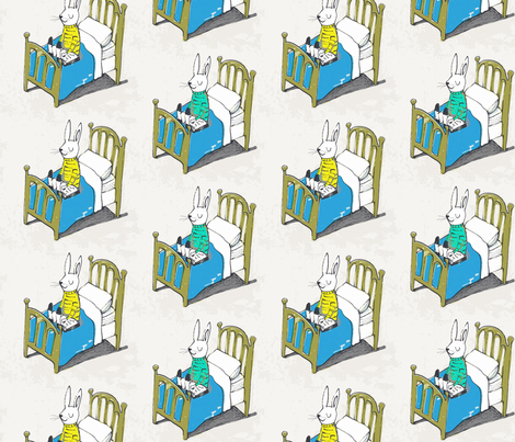 dreaming fabric by mummysam on Spoonflower - custom fabric