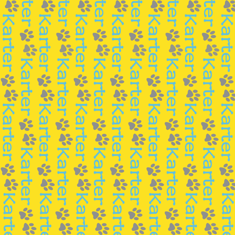 Karter fabric by cksstudio80 on Spoonflower - custom fabric