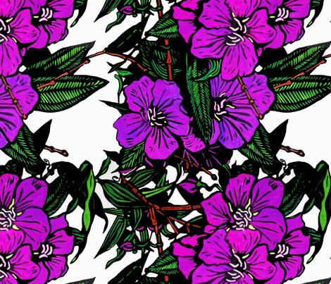lassiandra Print for Scarf (c)indigodaze2012 fabric by indigodaze on Spoonflower - custom fabric