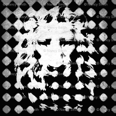 Silver back Lion