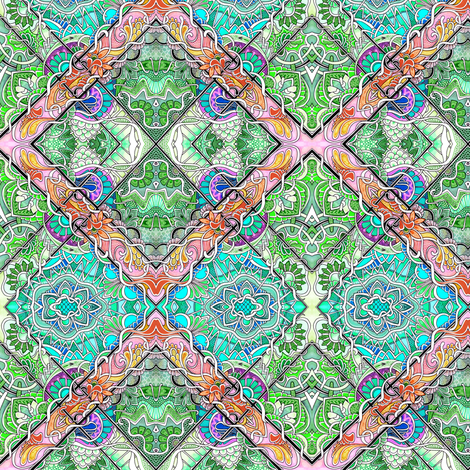 How Green Were My Patches fabric by edsel2084 on Spoonflower - custom fabric