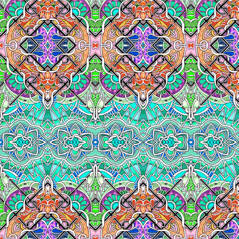 Gone Fishing fabric by edsel2084 on Spoonflower - custom fabric