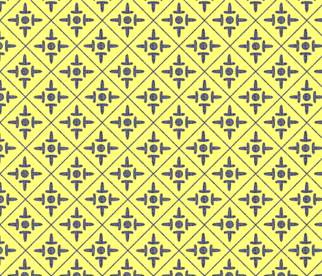colonial_cross country french fabric by glimmericks on Spoonflower - custom fabric