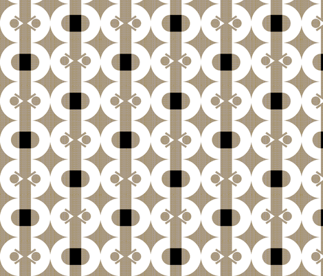 arrows and orbs fabric by ottomanbrim on Spoonflower - custom fabric