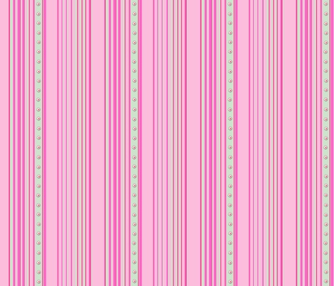 Begonia stripe fabric by koalalady on Spoonflower - custom fabric