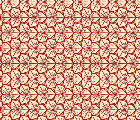 Trillium fabric by nefernika on Spoonflower - custom fabric