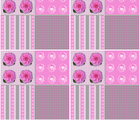 Camellia Coordinate fabric by koalalady on Spoonflower - custom fabric