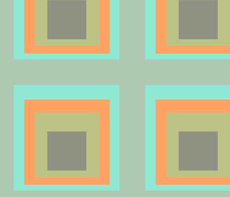 Homage-OrangeBerry fabric by designertre on Spoonflower - custom fabric