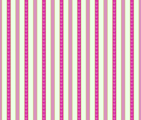 Campanula stripe_ fabric by koalalady on Spoonflower - custom fabric