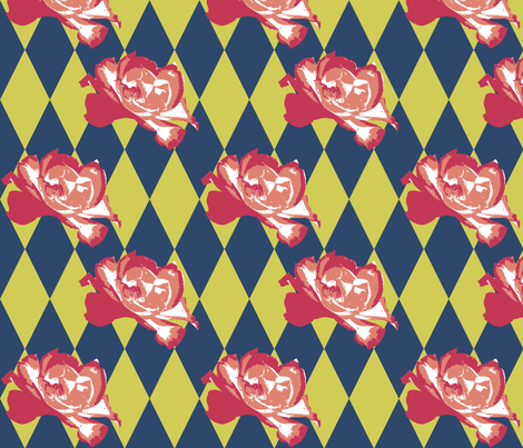 Nasher Floral fabric by fentonslee on Spoonflower - custom fabric