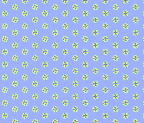 Pretty Pinwheels fabric by robin_rice on Spoonflower - custom fabric