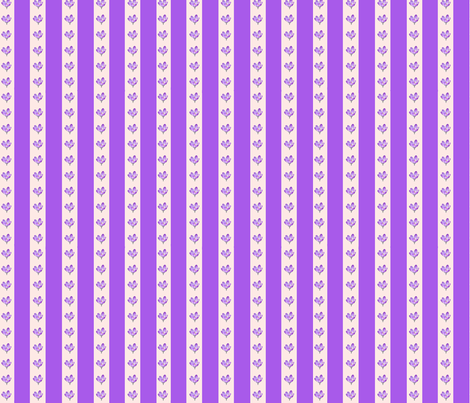 Crocus stripe fabric by koalalady on Spoonflower - custom fabric
