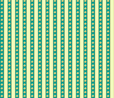 Dahlia Stripe fabric by koalalady on Spoonflower - custom fabric