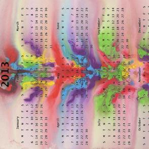 2013 Calendar - In the Flow
