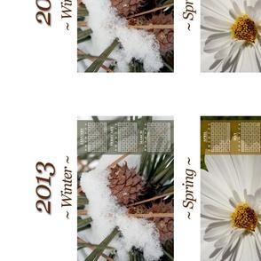 2013 Fabric Calendar