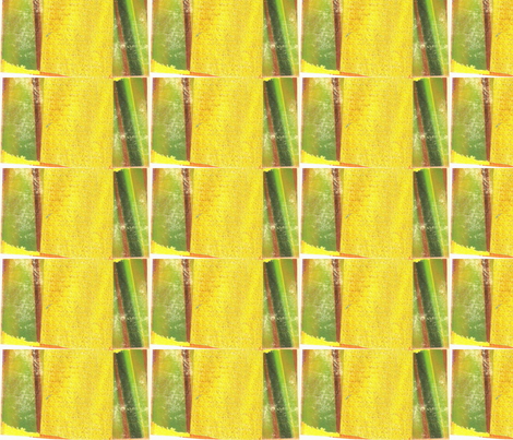 Yellow and Green Blocks fabric by artist55 on Spoonflower - custom fabric