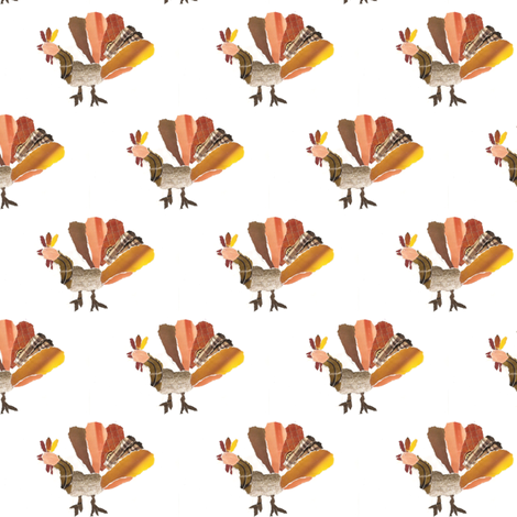 TURKEY fabric by ballootatutu on Spoonflower - custom fabric