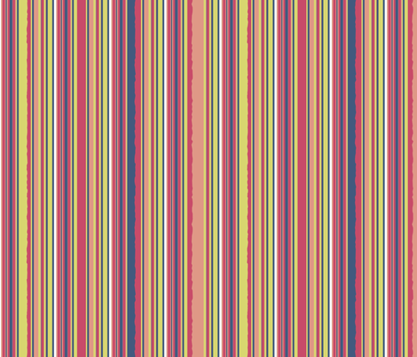matisse rough stripe 3 fabric by mojiarts on Spoonflower - custom fabric
