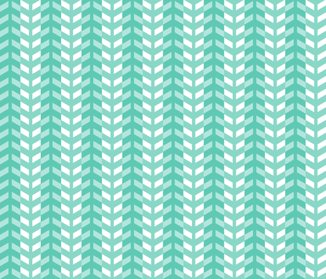 Arrows in teal fabric by little_fish on Spoonflower - custom fabric