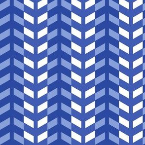 Arrows in blue