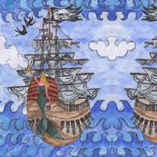Avast, ahoy, aye aye