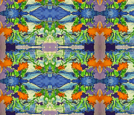 Tropical Rain Forest fabric by artscape on Spoonflower - custom fabric