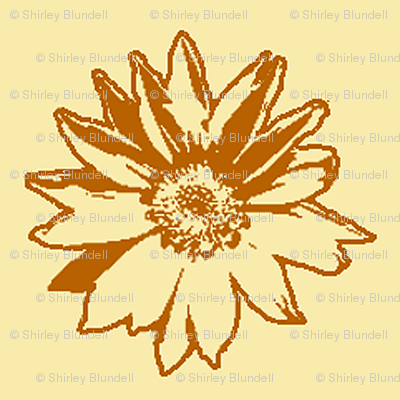 Sunflower2 Sketch