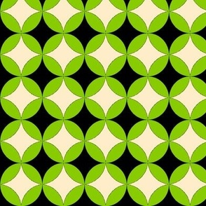 MysterySpot in GreenBlackCream