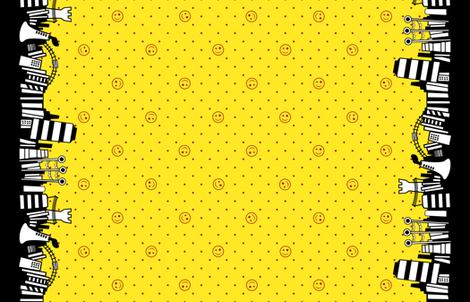 Vocaloid Matryoshka fabric by infinitemonkey on Spoonflower - custom fabric
