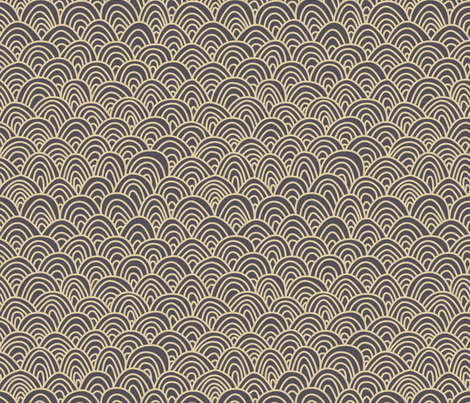 Grey arch fabric by feliciadavidsson on Spoonflower - custom fabric