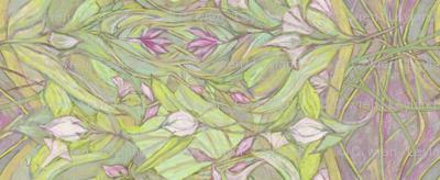 Pastel Crocus Floral