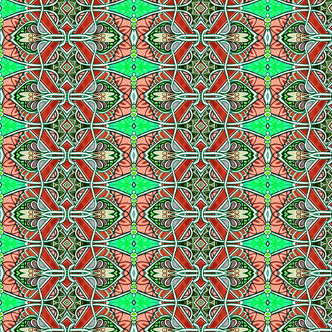 Why do I Keep Thinking About Artichokes? fabric by edsel2084 on Spoonflower - custom fabric