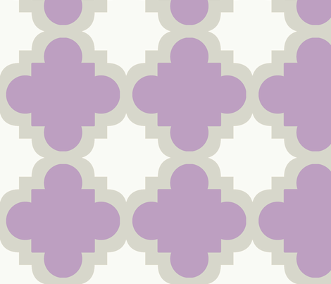 burst lavender white fabric by mytinystar on Spoonflower - custom fabric