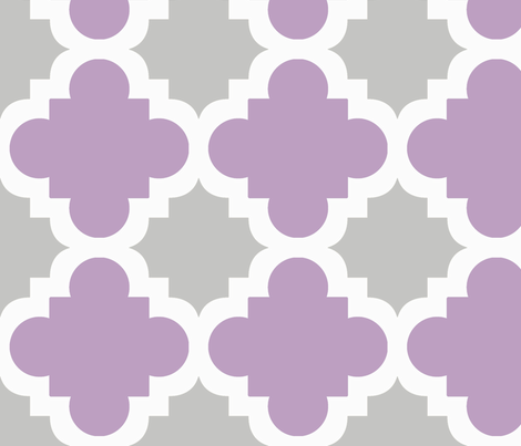 burst lavender and grey fabric by mytinystar on Spoonflower - custom fabric