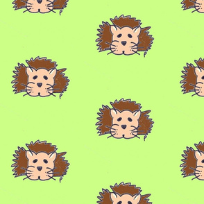 lewis the lion on green