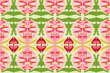 Ravishing Radishes fabric by susaninparis on Spoonflower - custom fabric