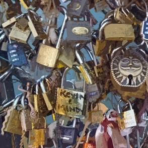 Love Locks Paris - variation 2