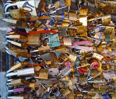 Love Locks Paris - variation 1
