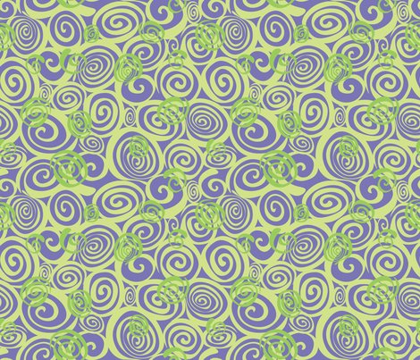 Rspiral_repeat_lime_on_purple_shop_preview