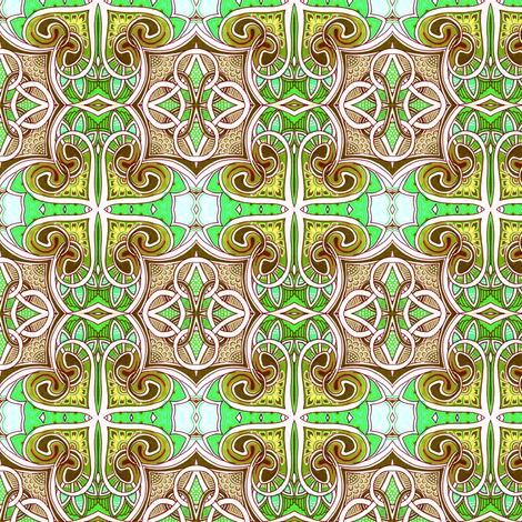 Celtic Luck fabric by edsel2084 on Spoonflower - custom fabric