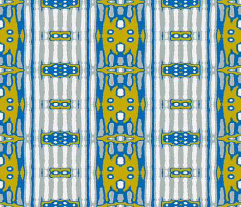 Yipes Stripes - variation vertical large fabric by susaninparis on Spoonflower - custom fabric