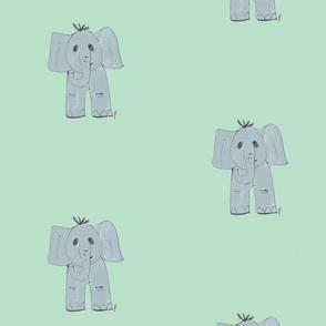 elberth the elephant on mint