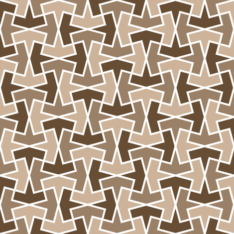 arrow 4g X x3 fabric by sef on Spoonflower - custom fabric