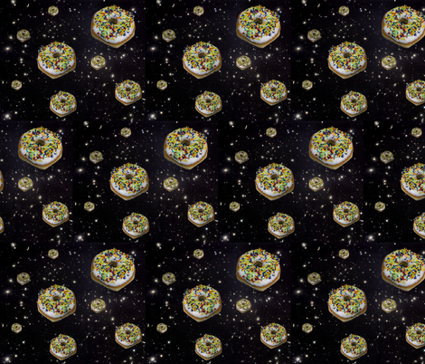 spudnut galaxy fabric by sewoeno on Spoonflower - custom fabric