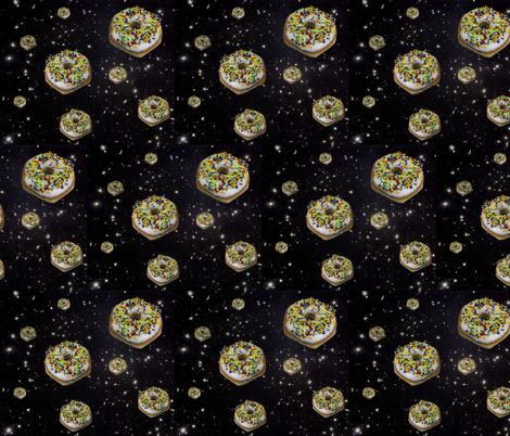 spudnut galaxy fabric by sewoeno on Spoonflower - custom fabric