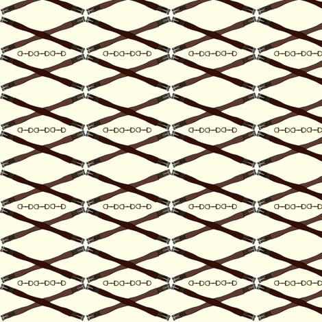 Crossed Girths fabric by ragan on Spoonflower - custom fabric