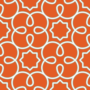 Geometric Loopy-Orange