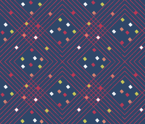 after_Matisse_PLAID fabric by glimmericks on Spoonflower - custom fabric