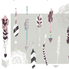 Arrows &amp; feathers
