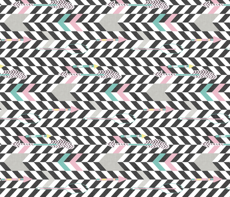 arrows fabric by katarina on Spoonflower - custom fabric